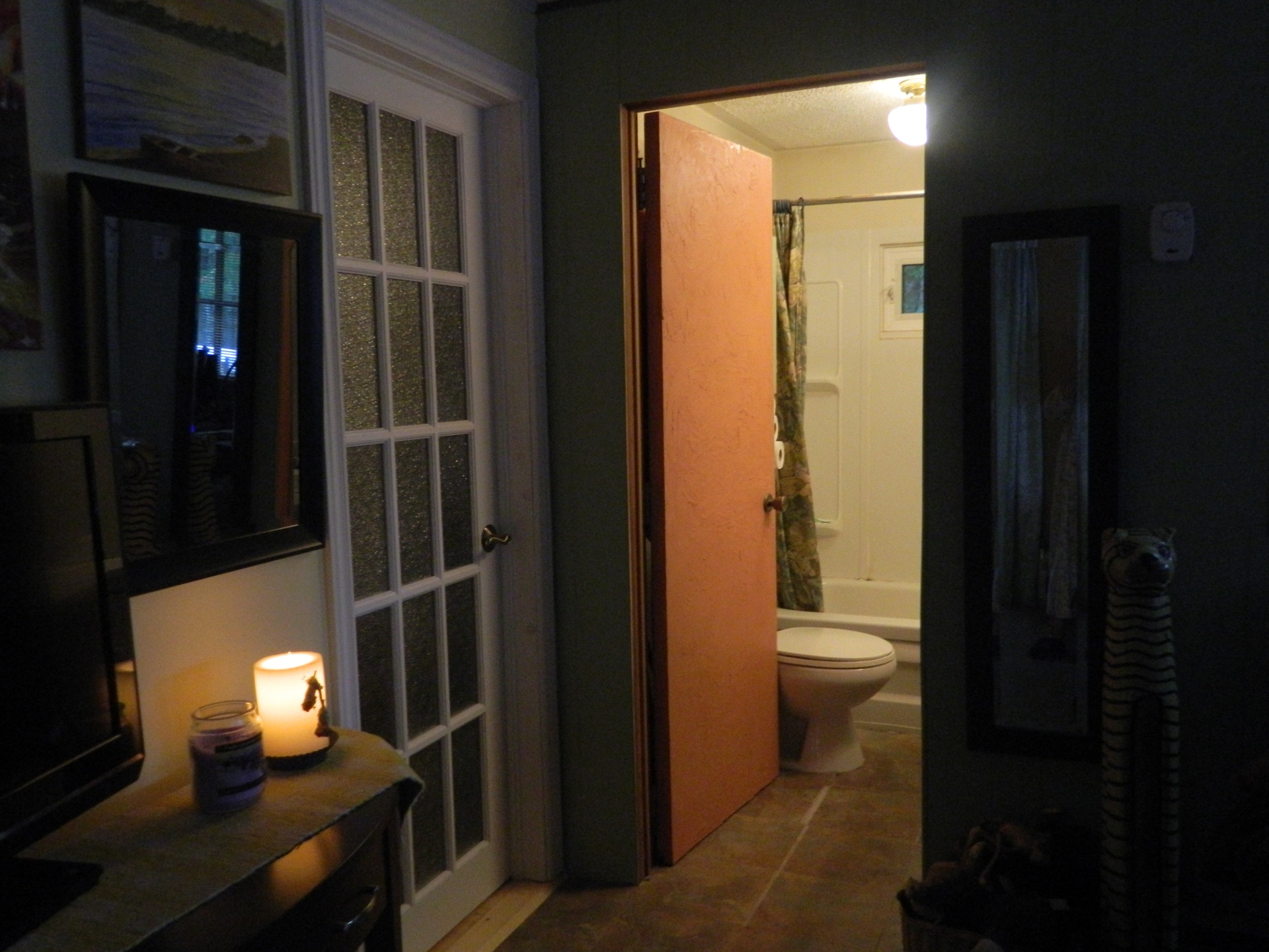 Bathroom in NW side of house